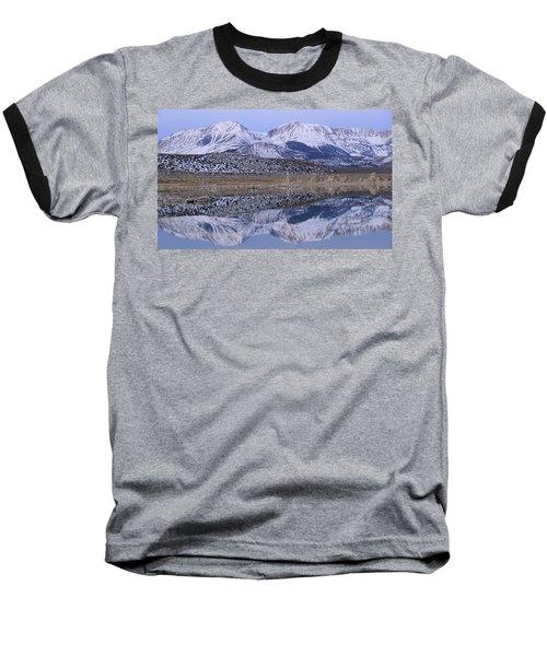 Tufa Dawn Winter Dreamscape Baseball T-Shirt
