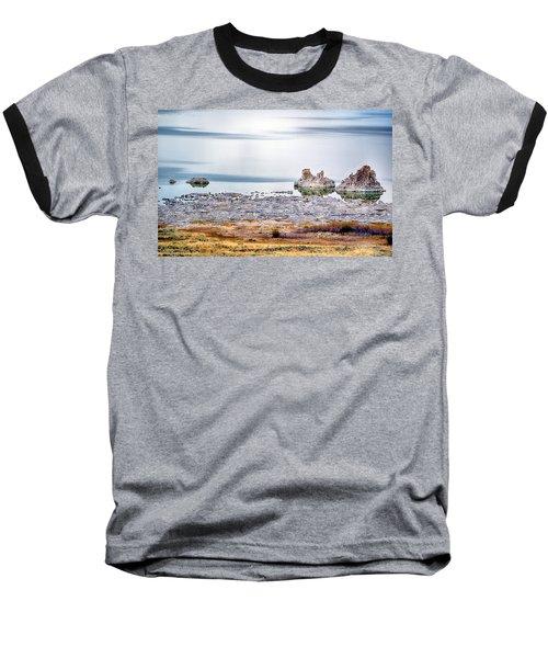 Tufa Formations At Mono Lake Baseball T-Shirt