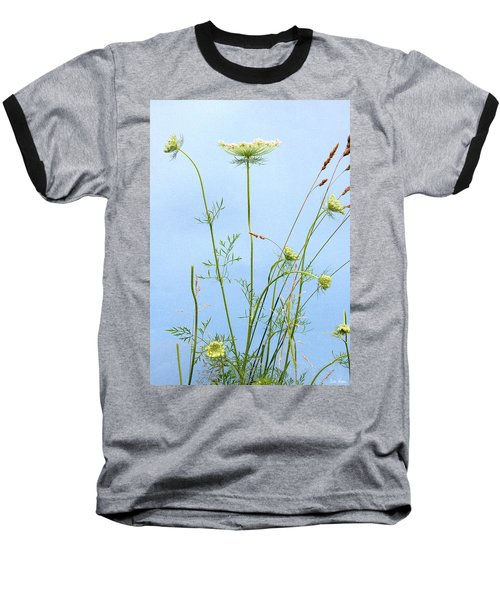Tuft Of Queen Anne's Lace Baseball T-Shirt