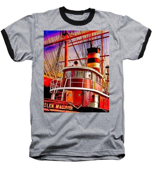 Tugboat Helen Mcallister Baseball T-Shirt