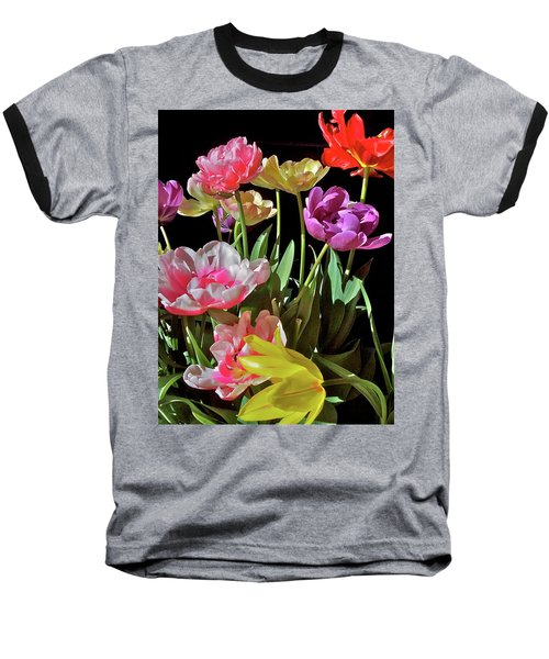 Baseball T-Shirt featuring the photograph Tulip 8 by Pamela Cooper