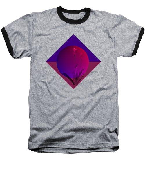 Tulip Abstract Baseball T-Shirt