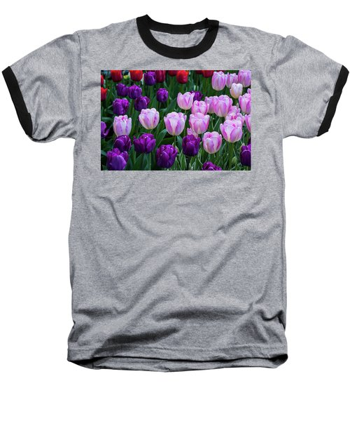 Tulip Blush Baseball T-Shirt