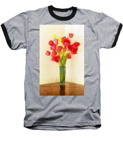 Tulip Bouquet Baseball T-Shirt