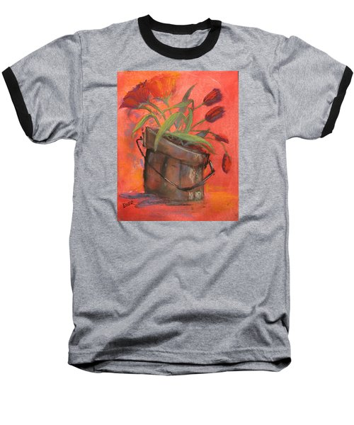 Tulip Bucket Baseball T-Shirt