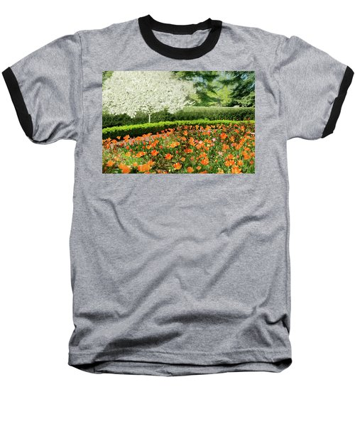 Baseball T-Shirt featuring the photograph Tulip Cafe by Diana Angstadt