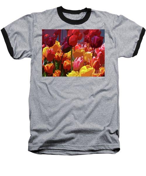 Tulip Confusion Baseball T-Shirt