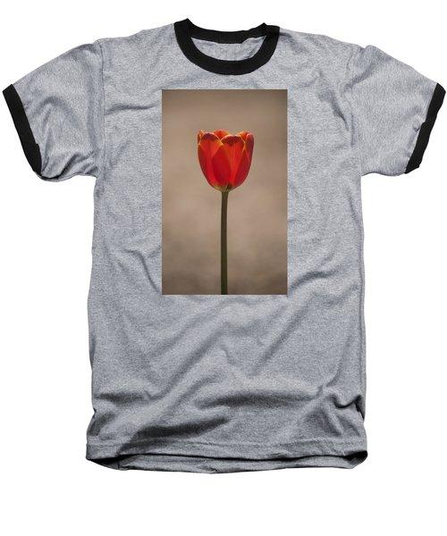 Tulip En Fuego Baseball T-Shirt by Morris  McClung