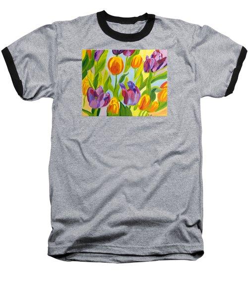 Tulip Fest Baseball T-Shirt