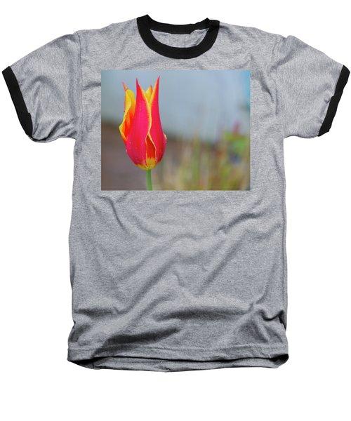 Tulip Fire Baseball T-Shirt