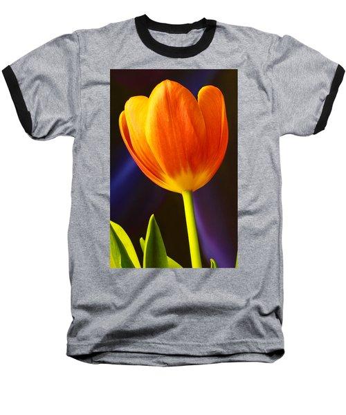 Tulip Baseball T-Shirt by Marlo Horne