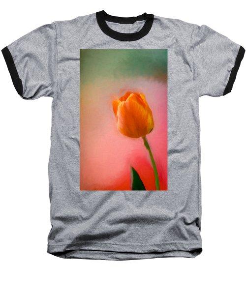 Tulip On The Porch Baseball T-Shirt