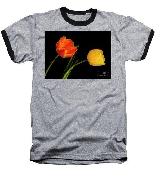 Tulip Pair Baseball T-Shirt