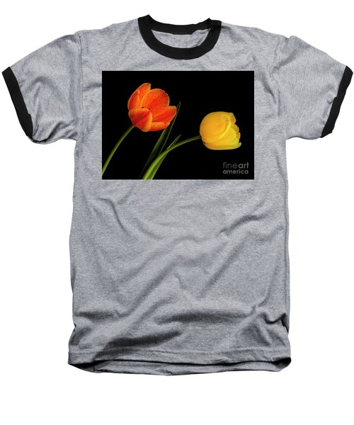 Tulip Pair Baseball T-Shirt