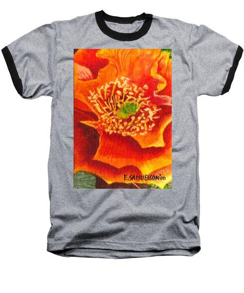 Tulip Prickly Pear Baseball T-Shirt