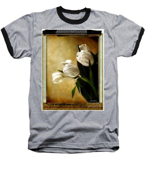 Tulip Side Sepia Baseball T-Shirt