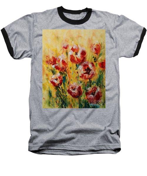 Tulip Waltz Baseball T-Shirt