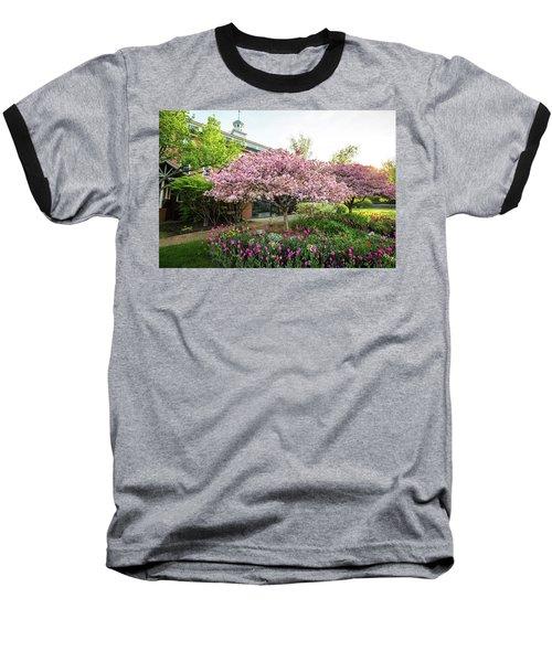 Tulips And Crabapples Baseball T-Shirt