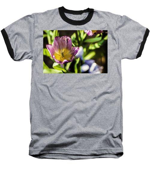 Tulips At The End Baseball T-Shirt