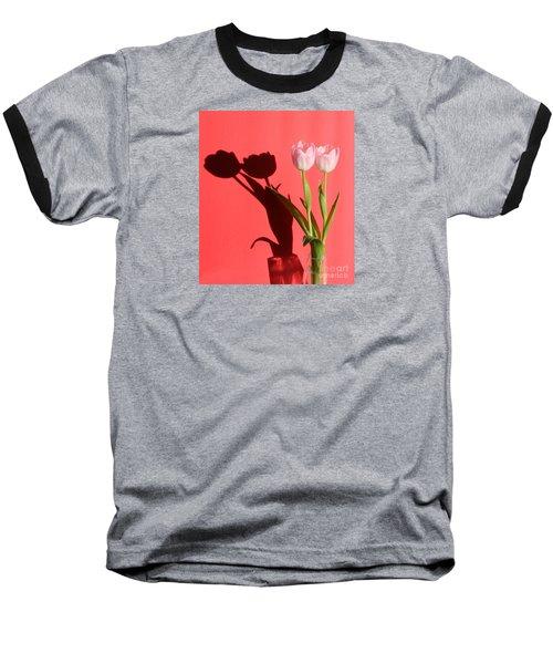 Tulips Casting Shadows Baseball T-Shirt