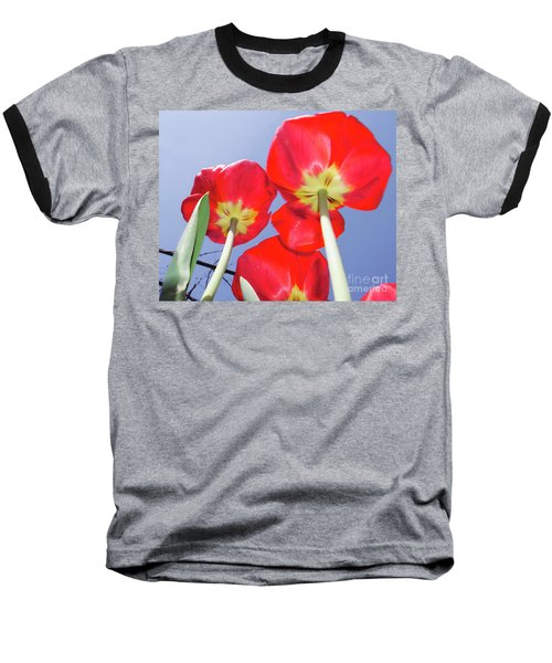 Baseball T-Shirt featuring the photograph Tulips by Elvira Ladocki