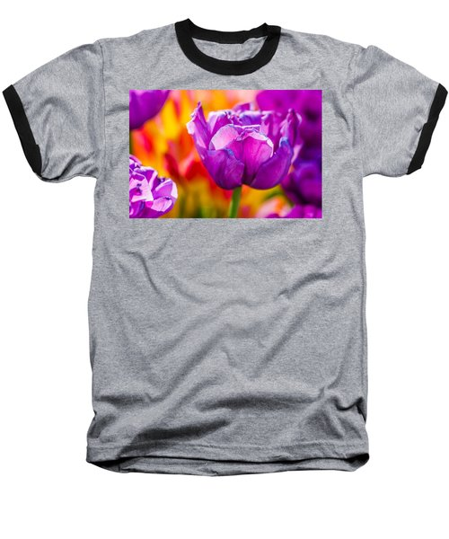 Baseball T-Shirt featuring the photograph Tulips Enchanting 43 by Alexander Senin