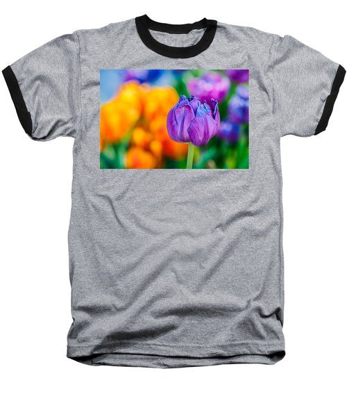 Baseball T-Shirt featuring the photograph Tulips Enchanting 46 by Alexander Senin