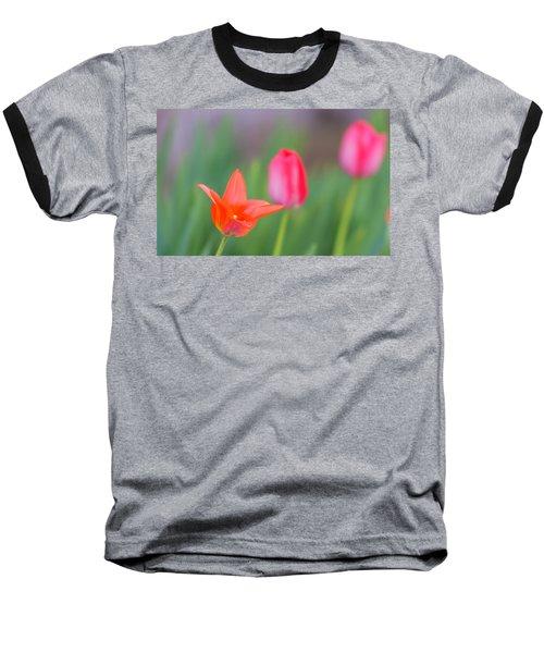 Tulips In My Garden Baseball T-Shirt