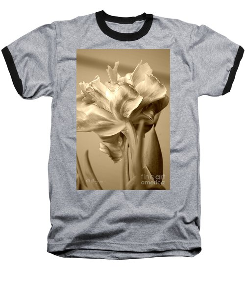 Tulips In Sepia Baseball T-Shirt