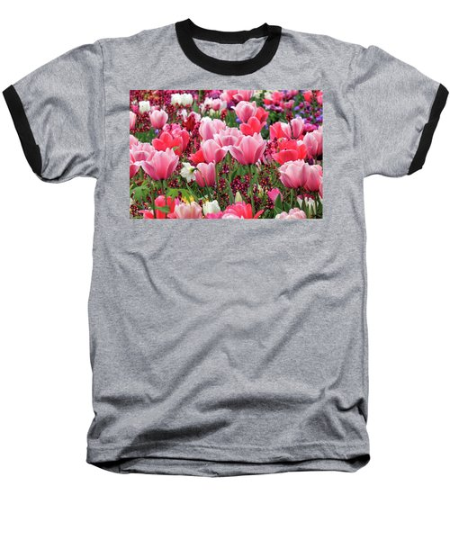 Baseball T-Shirt featuring the photograph Tulips by James Eddy