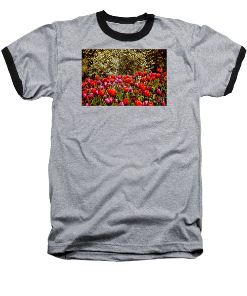 Baseball T-Shirt featuring the photograph Tulips by Milena Ilieva