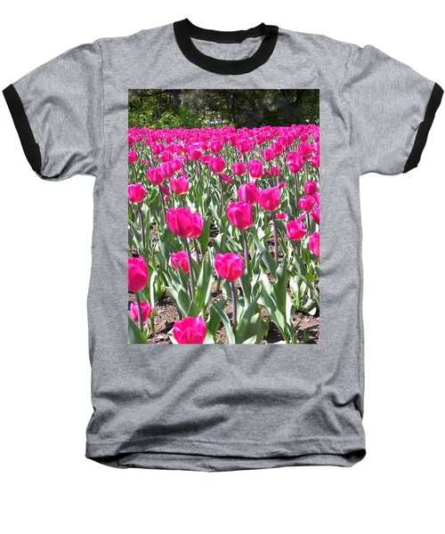 Baseball T-Shirt featuring the photograph Tulips by Mary-Lee Sanders