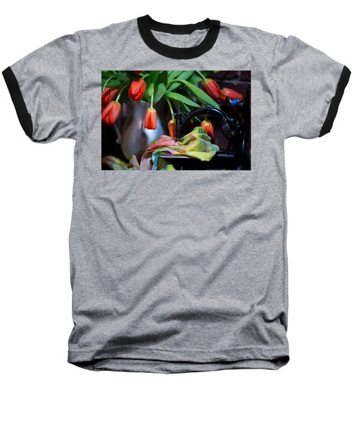 Baseball T-Shirt featuring the photograph Tulips by Sharon Jones