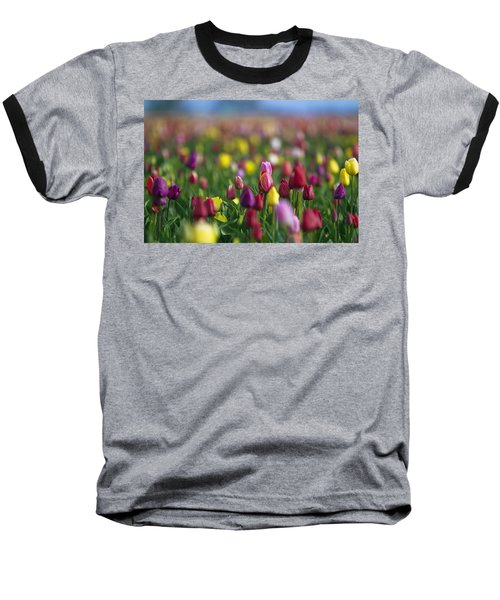 Baseball T-Shirt featuring the photograph Tulips by William Lee