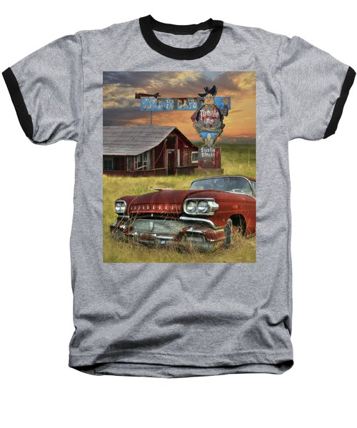 Baseball T-Shirt featuring the photograph Tumble Inn by Lori Deiter