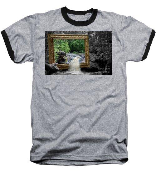 Tumbling Water Baseball T-Shirt
