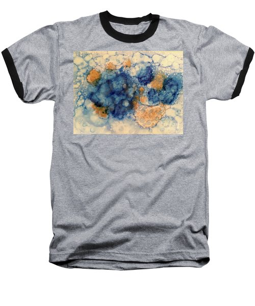 Baseball T-Shirt featuring the painting Tundra by Denise Tomasura