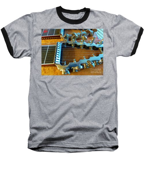 Tuning Pegs On Sho-bud Pedal Steel Guitar Baseball T-Shirt