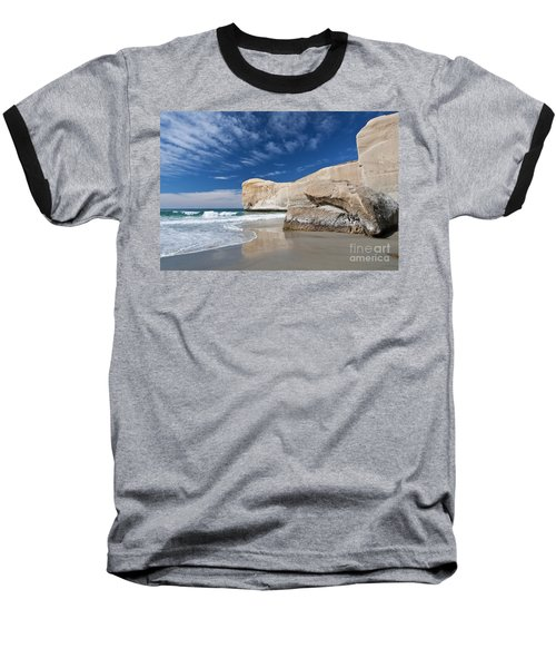 Tunnel Beach 1 Baseball T-Shirt