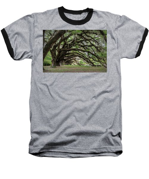 Baseball T-Shirt featuring the photograph Tunnel In Charleston by Jon Glaser