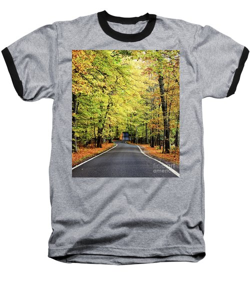 Tunnel Of Trees Baseball T-Shirt