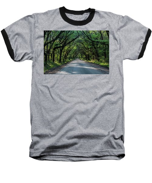 Baseball T-Shirt featuring the photograph Tunnel On Botany Bay by Jon Glaser