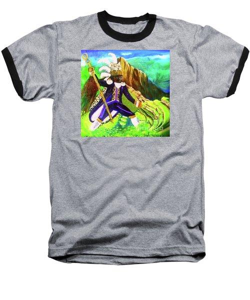 Tupac Amaru II Baseball T-Shirt by Talisa Hartley