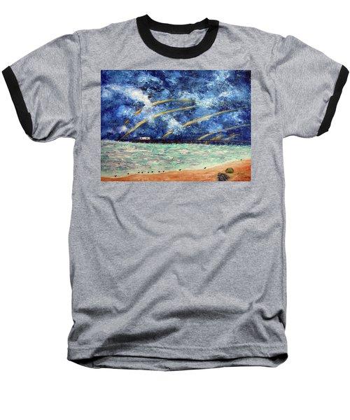 Turbulence At The Nj Shore Baseball T-Shirt
