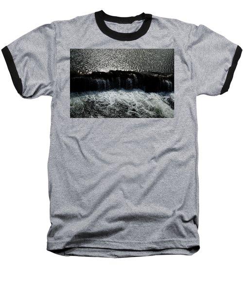 Turbulent Water Baseball T-Shirt