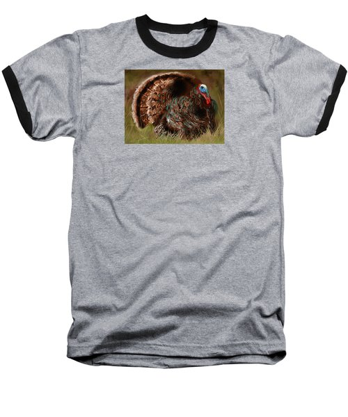 Turkey In The Straw Baseball T-Shirt
