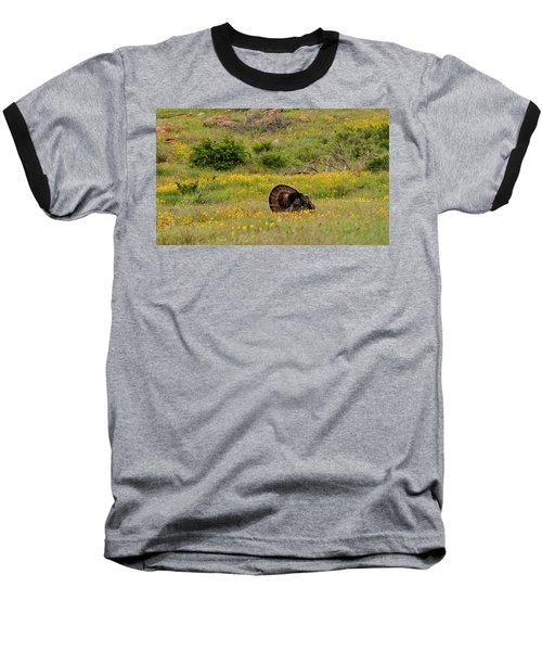 Turkey In Wichita Mountains Baseball T-Shirt