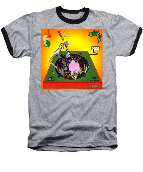 Turkey Table Baseball T-Shirt