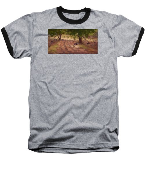 Turkey Tracks Baseball T-Shirt