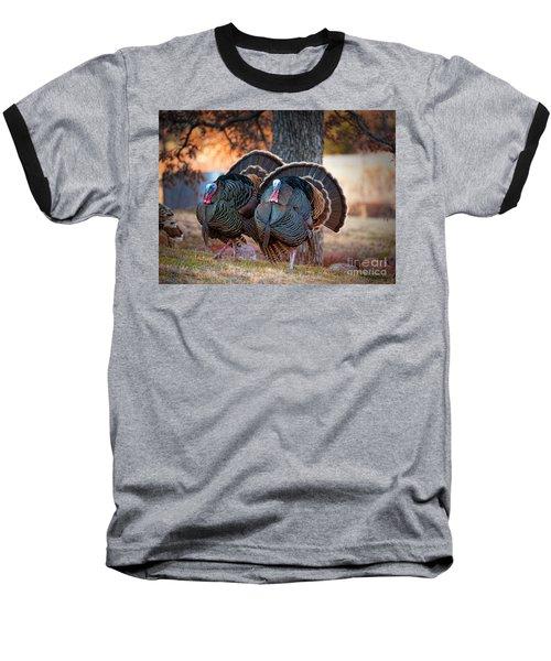 Turkey Trot Baseball T-Shirt